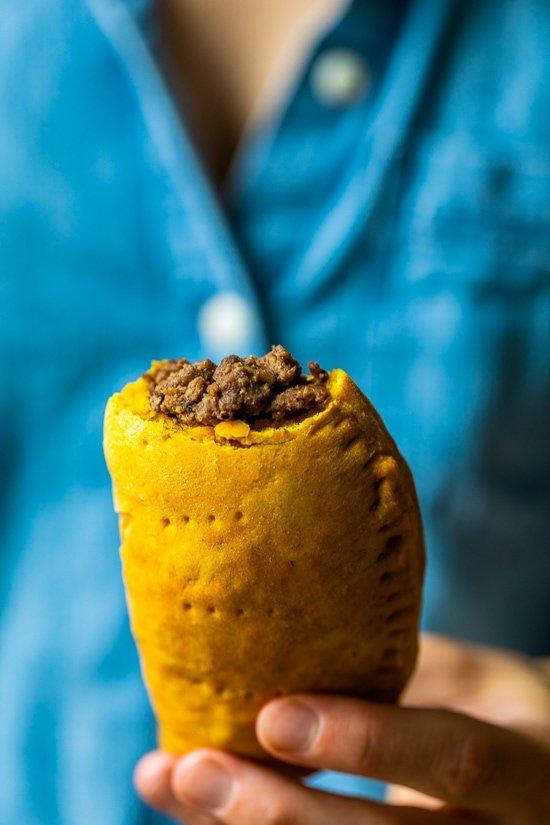 spicy jamaican beef patties  skinnytaste  blogpapi