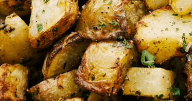 "Air Fryer Potatoes {The BEST ""Roasted"" Potaotes}"