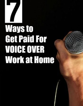 Voice Over Jobs From Home