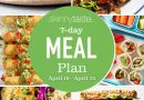 7 Day Healthy Meal Plan (April 19-25)
