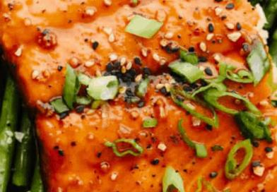Broiled Asian Glazed Salmon Recipe