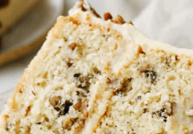 Old Fashioned Butter Pecan Cake Recipe