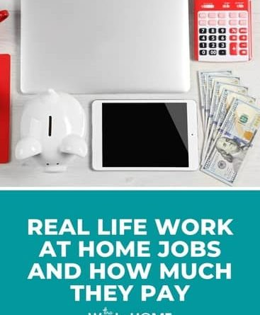17 Real-Life Work-at-Home Options and How Much They Pay